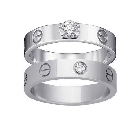 657d6765e19 Anéis Love em ouro e diamantes