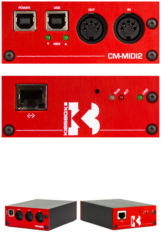 KISS-BOX MIDI2TR RTP-MIDI 64BIT DRIVER