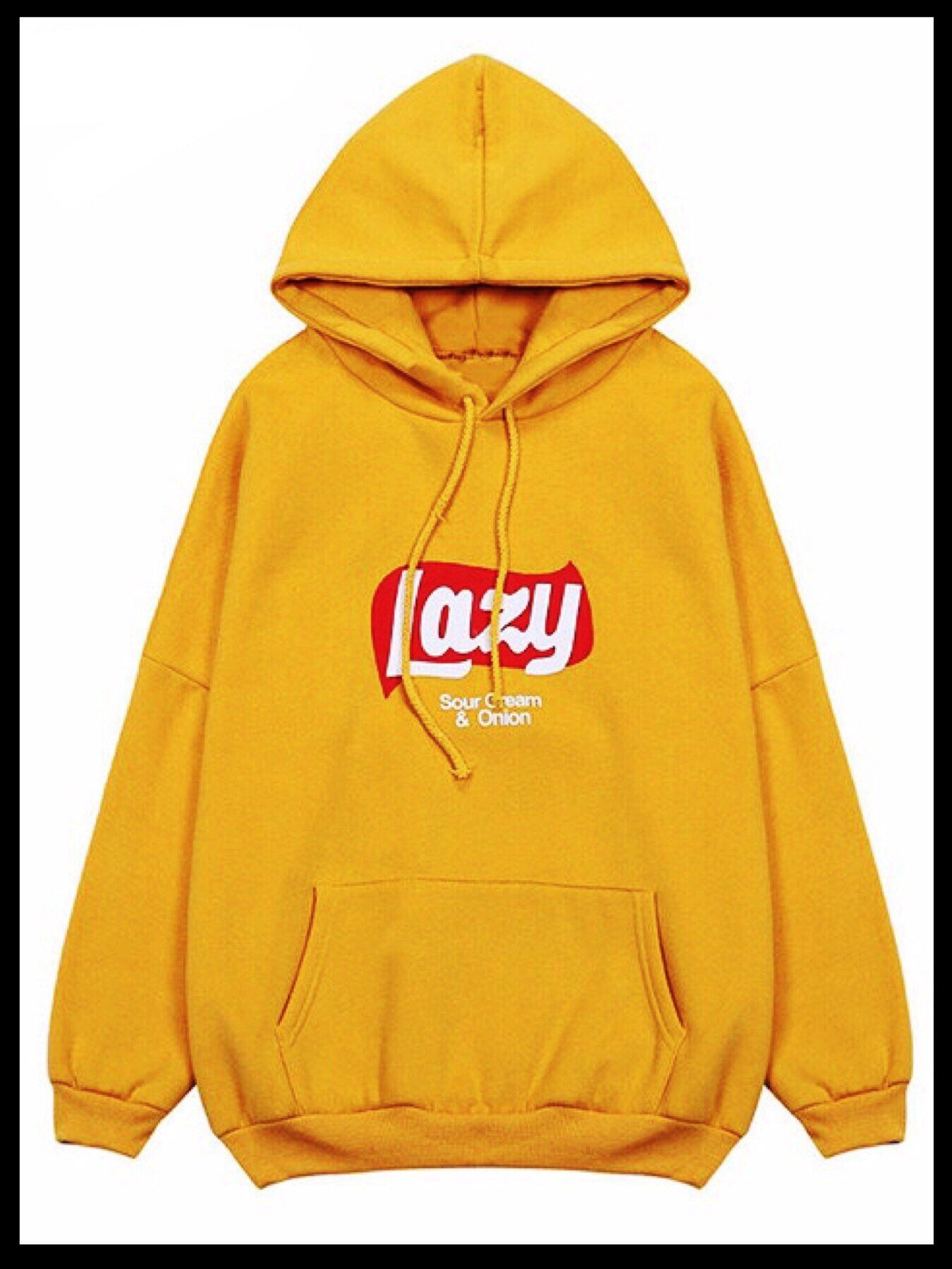 02c555871 Lazy Hoodie (Sour Cream & Onion) in 2019 | Products | Hoodies ...