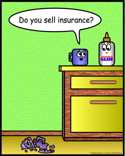 Inanimate Objects Comics 3 Business Insurance Health Insurance