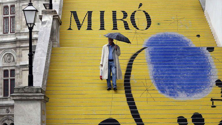 Viena Inaugura Una Exposición Sobre El Pintor Joan Miró Telediario Rtve Es A La Carta Joan Miró Exposiciones Pintor