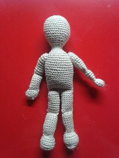 Here's my own pattern for the basic human doll.