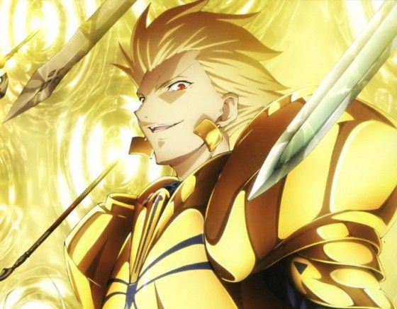Pin By Bloodrose On Fate Gilgamesh Fate Fate Anime Series