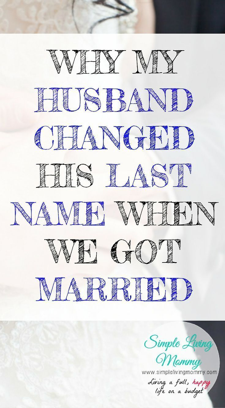 The Best Name for a Husband (or Wife) Is foto