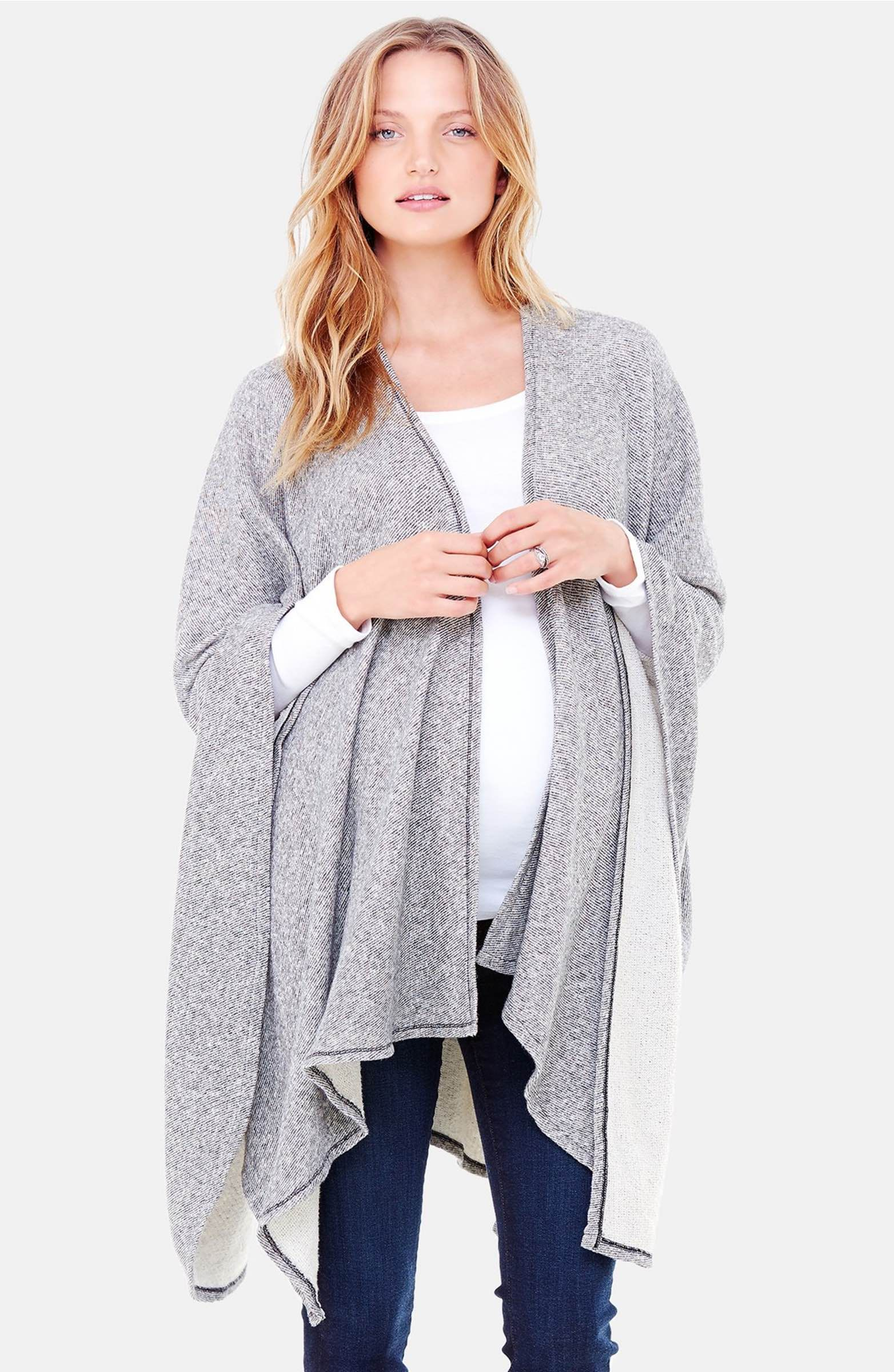 e58b6673520 Main Image - Ingrid & Isabel® 'Cozy' Maternity & Nursing Wrap | Bump ...