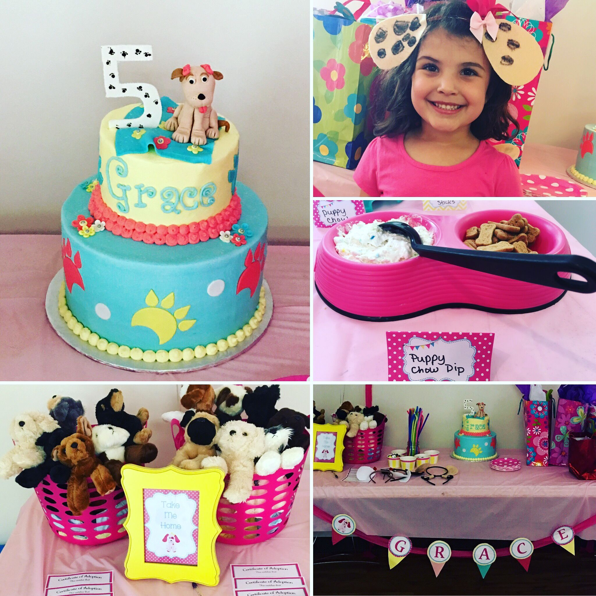 Puppy Themed girls birthday party