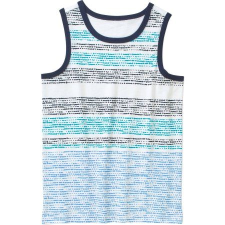 Boys Graphic Muscle Shirt Tank Top Gray New Faded Glory