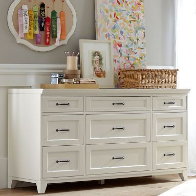 Hampton 9 Drawer Dresser Pb Teen 949 Overall 63 5 Wide X 21