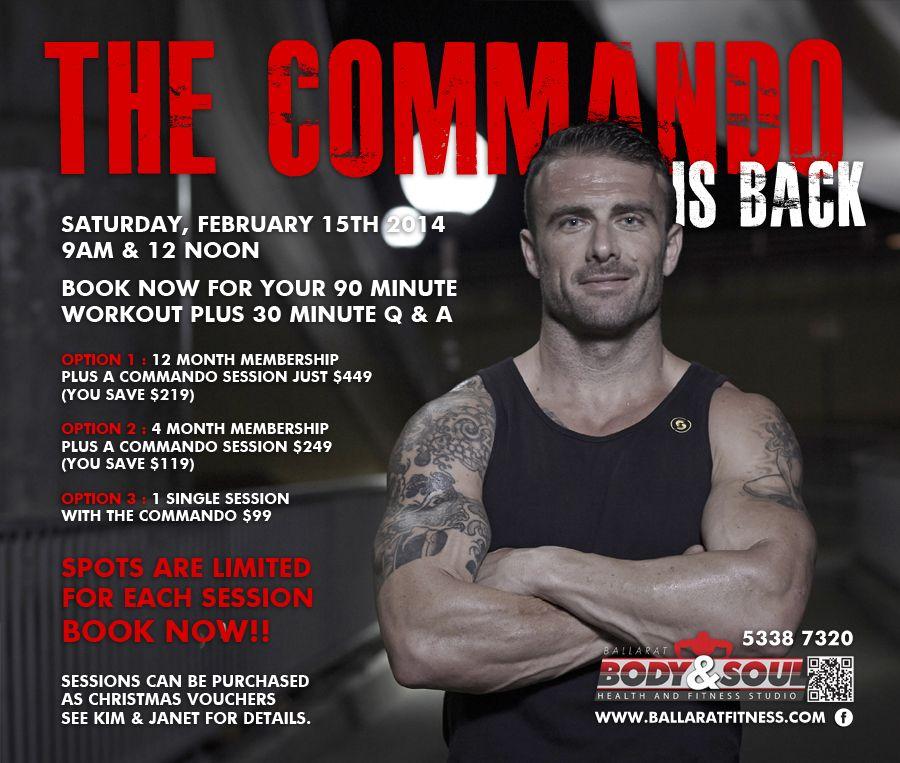 Commando Steve Health Club Workout Commando