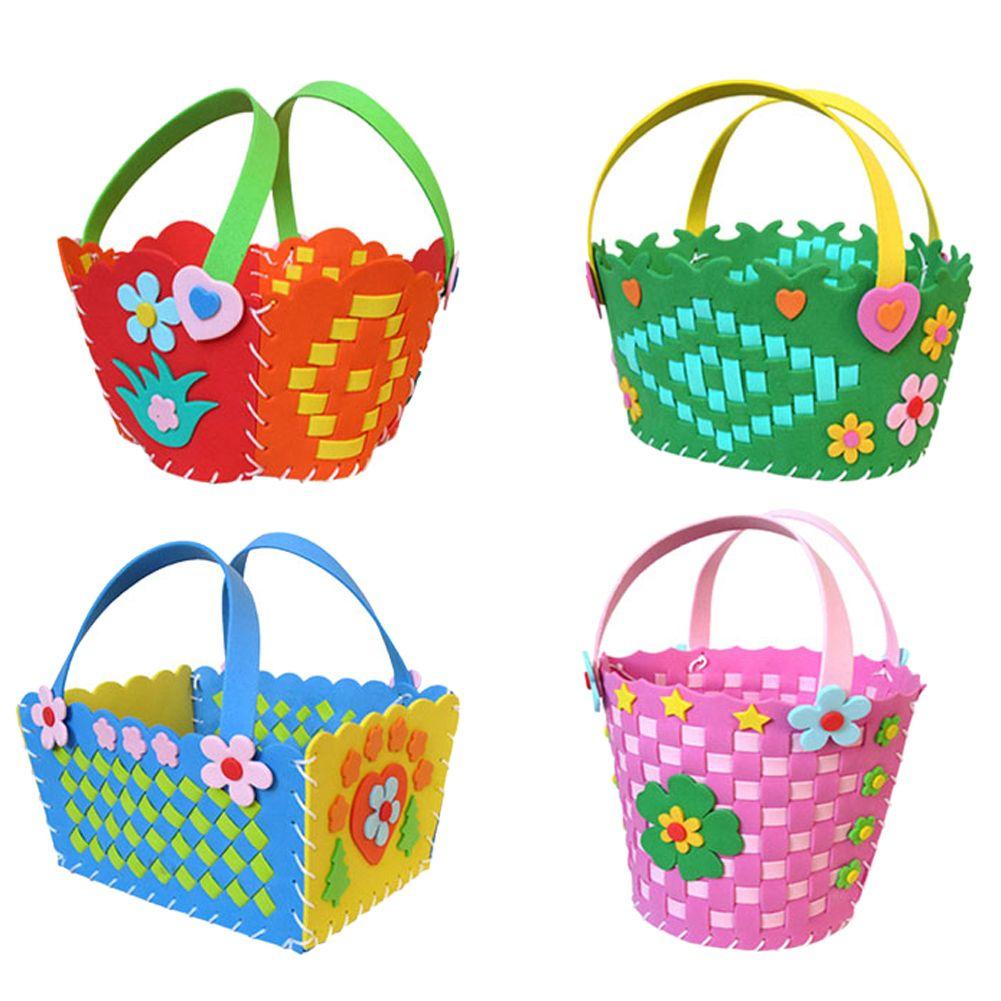 Handmade Eva Pen Holder Foam Craft Kits DIY Container Kids Educational Toy FO