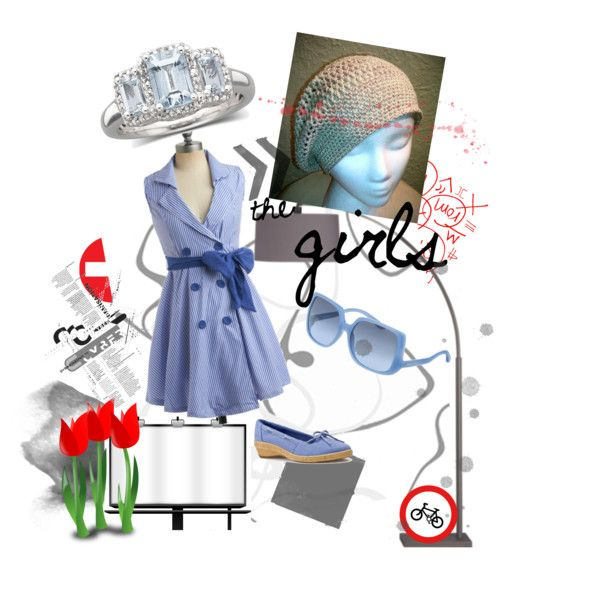 Blue Cutie, created by rainbowfujoshi on Polyvore