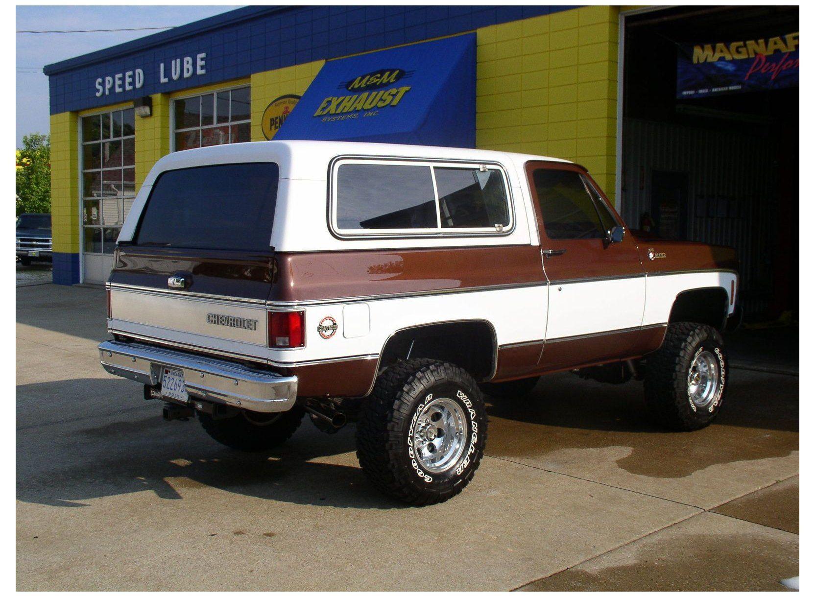 1979 Chevrolet Blazer Exterior Pictures 1979 K5 Blazer 1979 Chevrolet Blazer In 2020 Chevy Trucks Classic Chevy Trucks Chevrolet Blazer