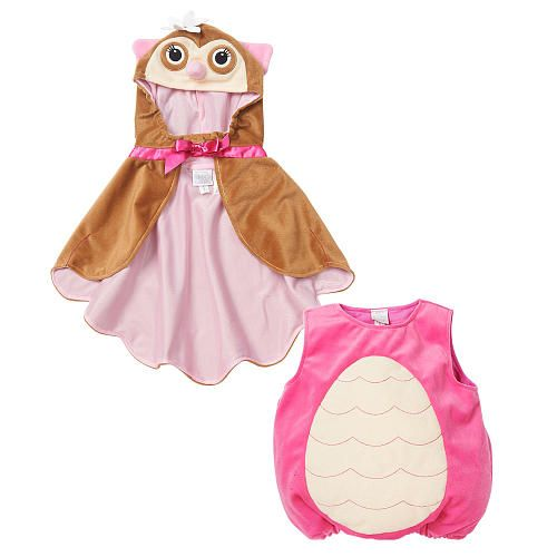 koala kids girls pinkbrown owl halloween costume with hooded cape babies r us toys r us - Baby Owl Halloween Costumes