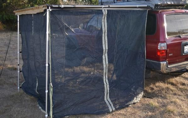 Roll Out Awning Bug Room - DIY Compact Camping Trailers ...