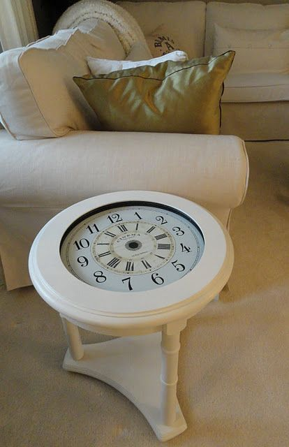 Table Clock Pas Le Temps Pinterest Horloge Meteo Et Garage
