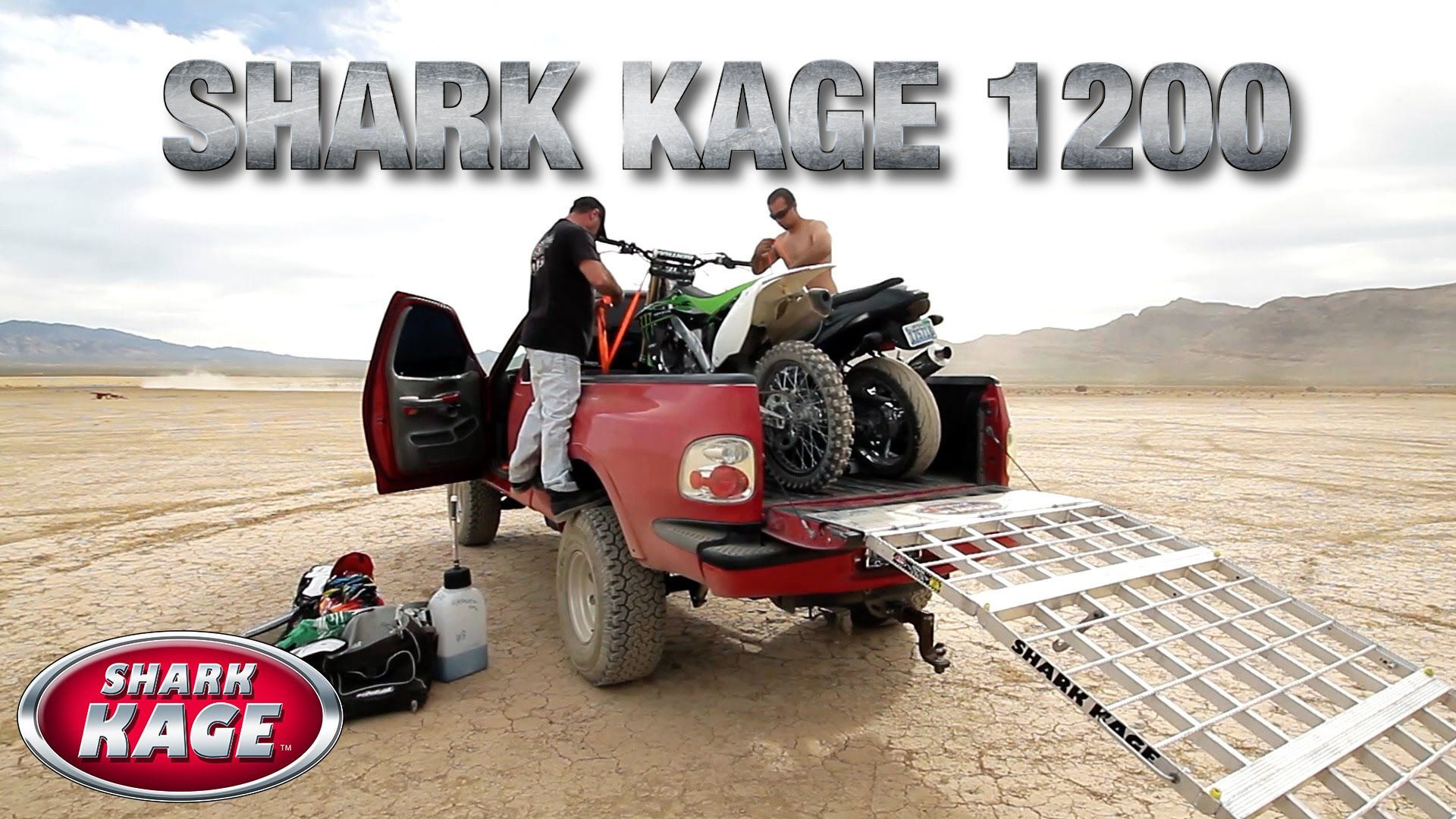 Shark Kage 1200 Aluminum Truck Ramps 1 In Safety And