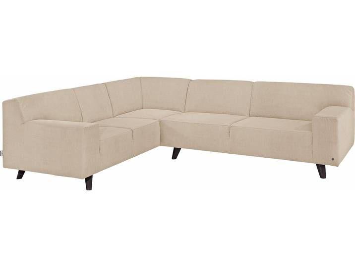 Tom Tailor Eck Sofa Nordic Pure Beige Hoher Sitzkomfort Couch Sofa Beige