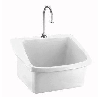 American Standard 9047 093 Porcelain Bathroom Sink Sink Utility Sink