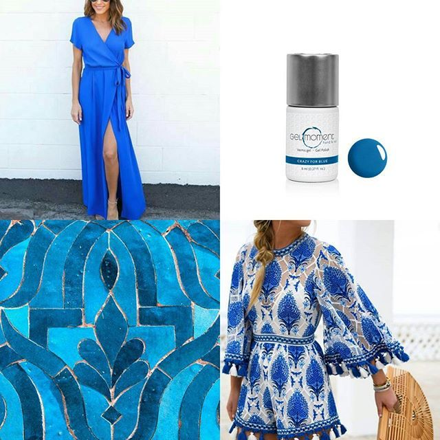 Well y'all GelMoment did it again. We have another new gel.polish color!!! That is 3 new colors this month what!!! How amazing is that.   And let's just say well I'm crazy about the new colors it's called Crazy For Blue. Isn't it just pretty!!!  Shop my website for this amazing new color and so much more!!! vanessaperry.gelmoment.com *  *  #gelmoment #GelMomentbyVanessa #thiswillchangeyournailslife #nails #nomoreakwardhandwave #vanessamarieperry #nailsofinstagram #gelpolish #gelpolishn...