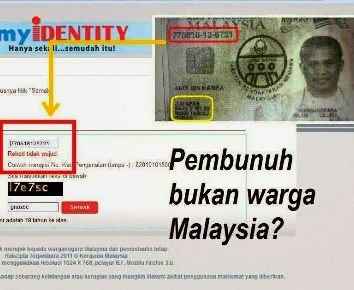 Nrd Many Security Firms Hire Foreigners With Fake Ics Sabah Report Hiring Security Fake Identity