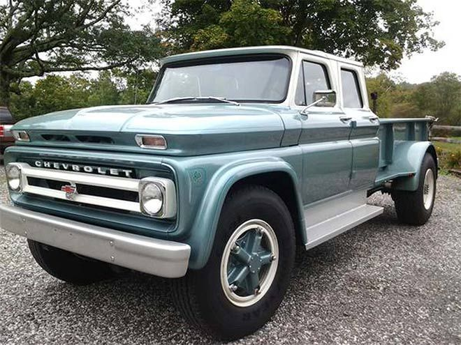 Craigslist Excellence: This Custom 1966 Chevrolet C60 Is the