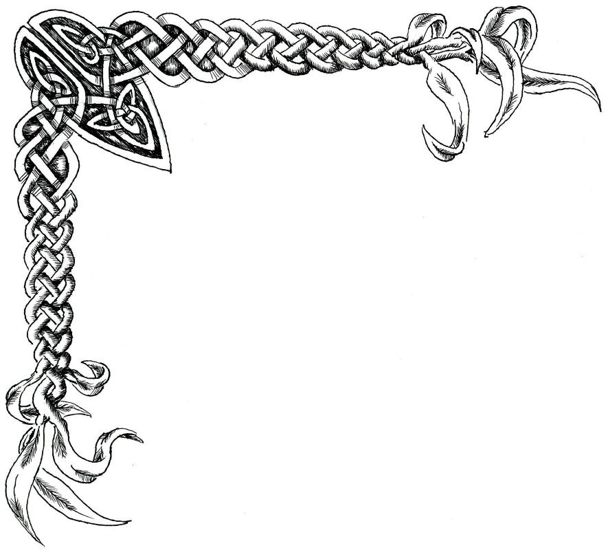 Celticknotcorner1 Png 885 800 Celtic Artwork Clip Art Borders Celtic Knot