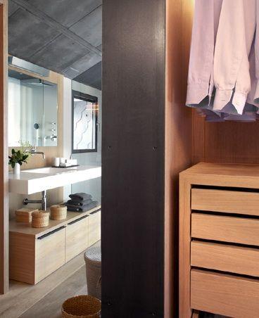Adela Cabré interiorismo Barcelona Baño vestidor www.adelacabre.com