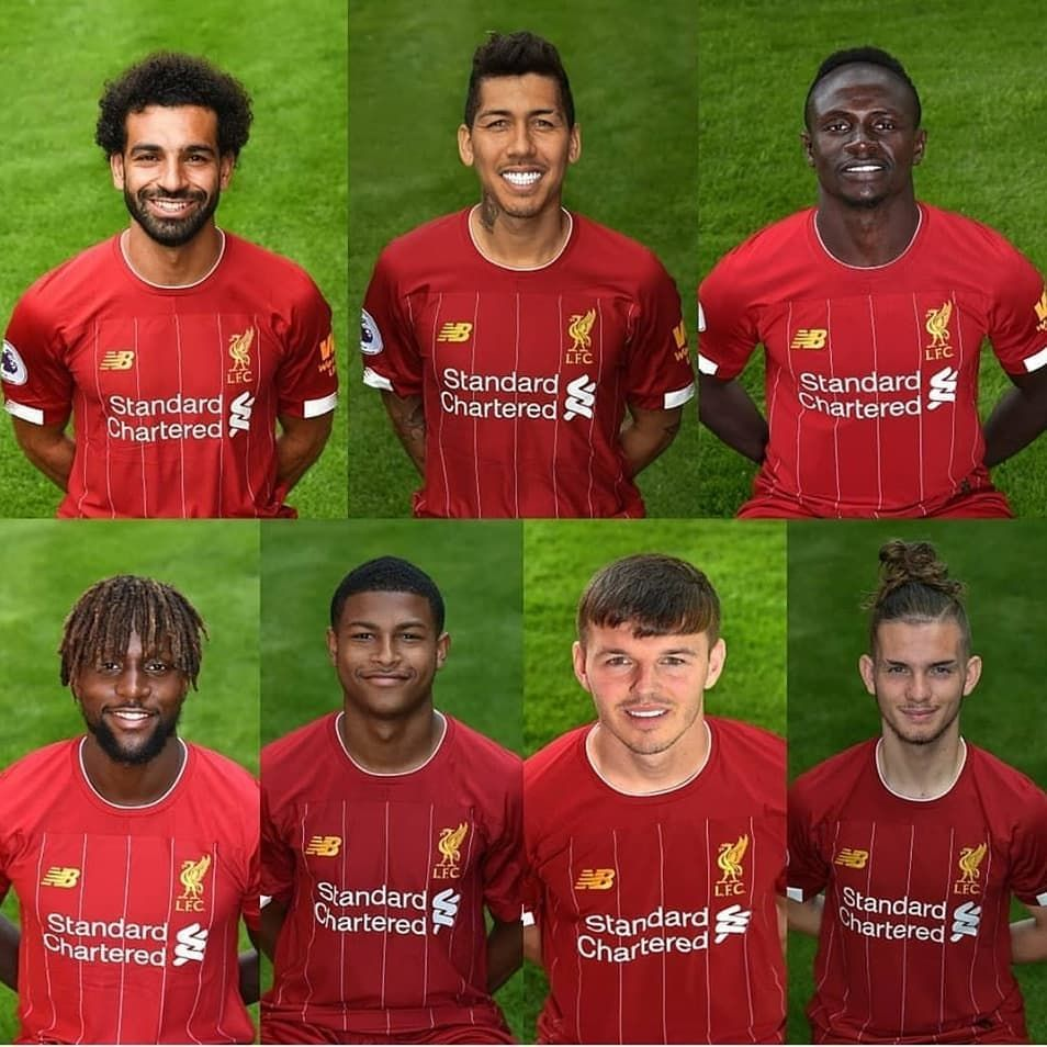Liverpool Fc All Players 2020
