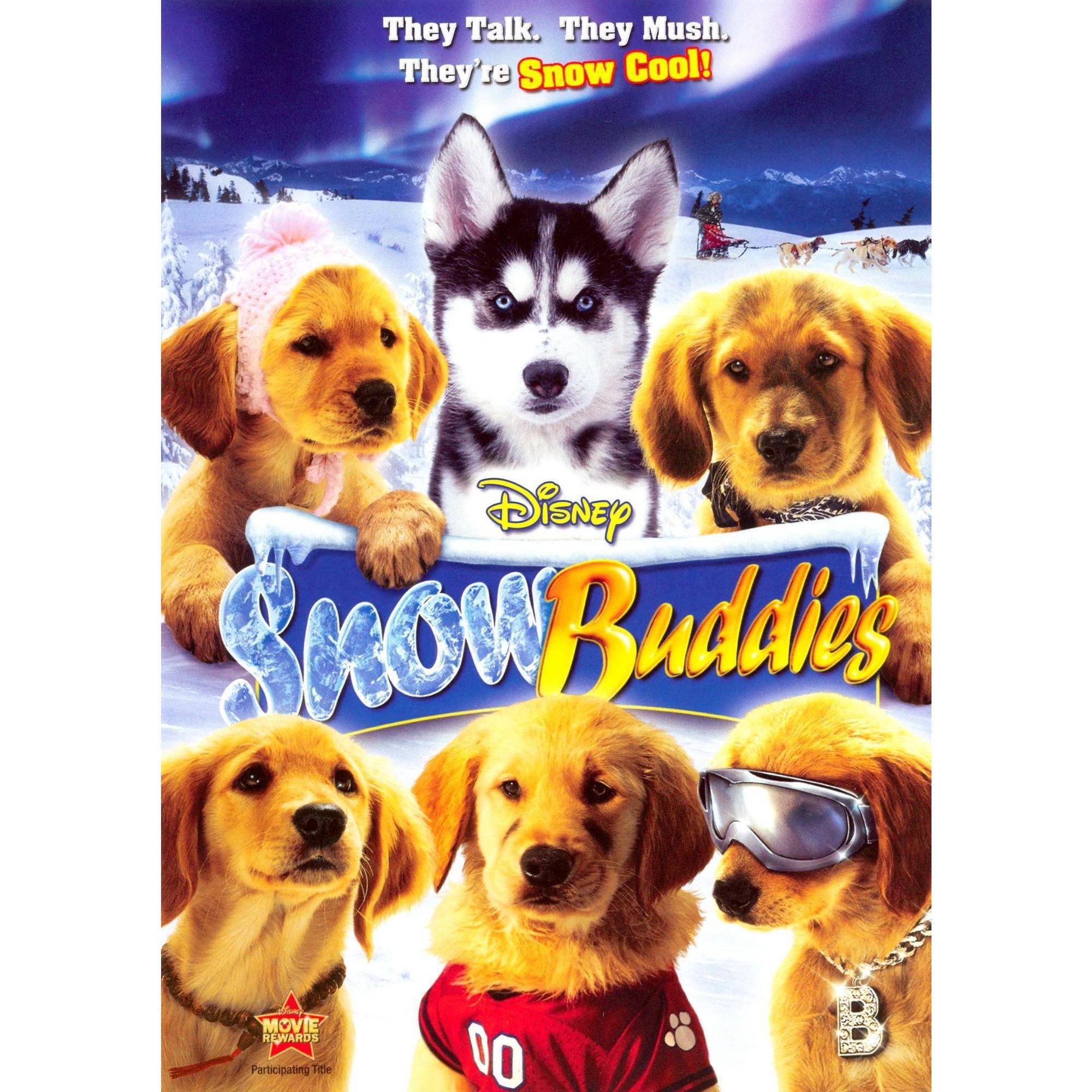 Snow Buddies Dvd Video Dog Movies Air Buddies Movies