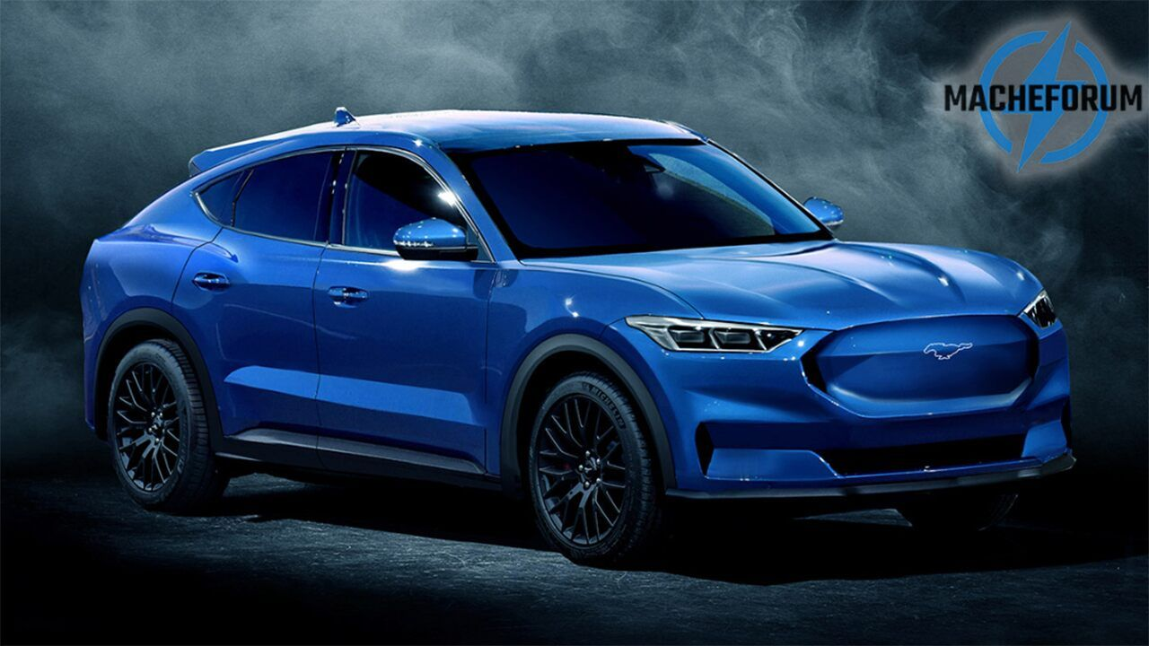 Is This What The Electric Ford Mustang Suv Looks Like With