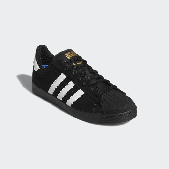 Superstar Vulc ADV Shoes Black | Adidas shoes superstar
