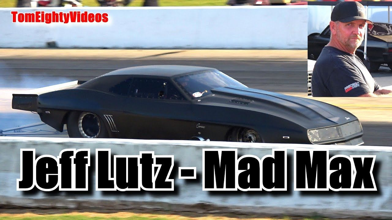 Jeff Lutz Racing His Camaro Promod Mad Max At An Okc No
