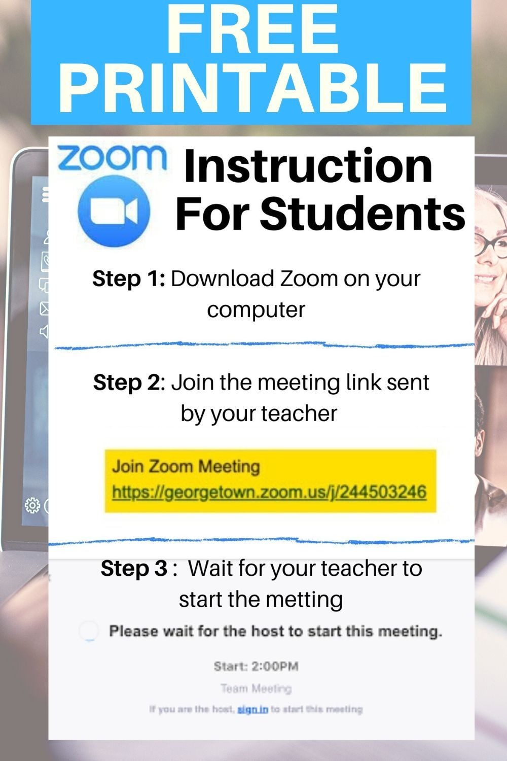 Is zoom free a guide for students teachers kids n