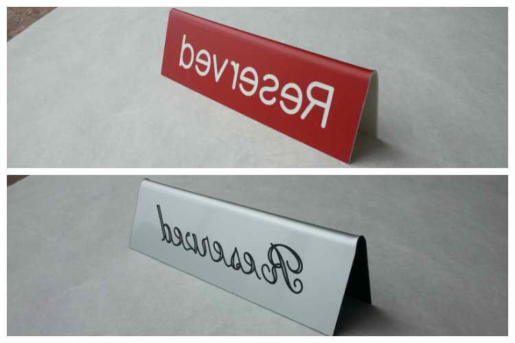 plastic table tent signs tent reviews pinterest table tents