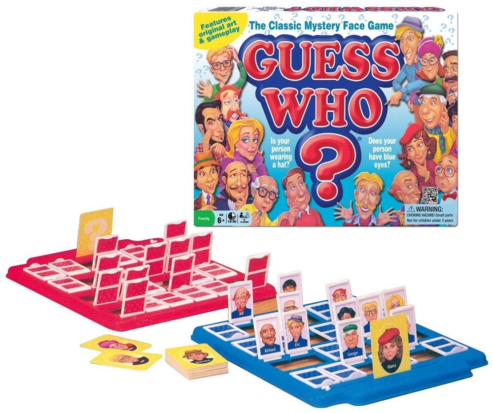 Guess Who? Board Game Board games for kids, Classic