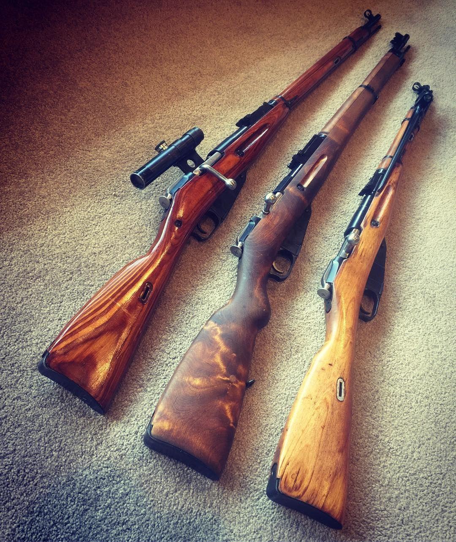 """Old Military Surplus Rifles on Instagram: """"Mid week Mosins"""
