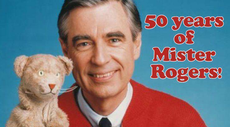 Mister Rogers Neighborhood Turns 50 Mister Rogers Neighborhood Fred Rogers Mr Rogers