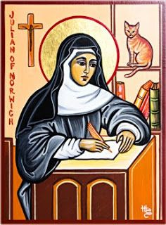 Saints and Recipes: ST. JULIAN OF NORWICH & BROWNIES