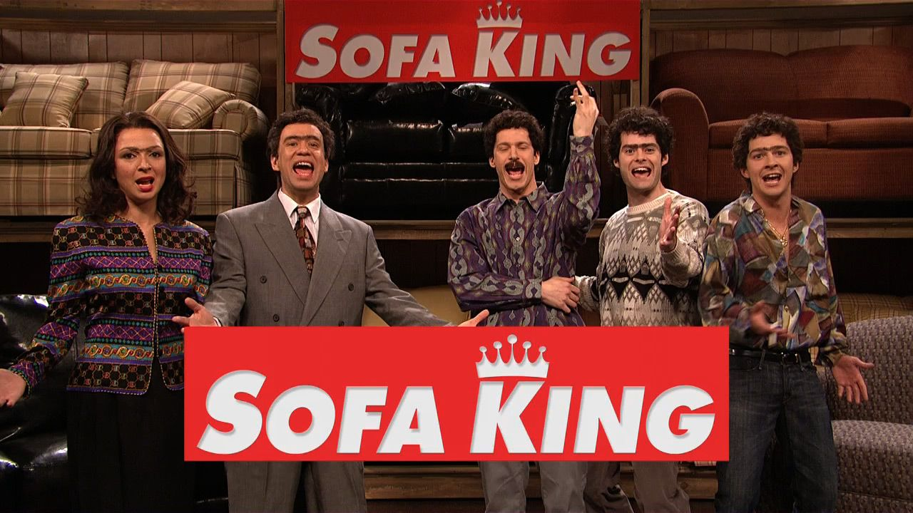 sofa king snl. Watch This Hilarious Saturday Night Live Sketch | Sofa King No One Can Believe Their Low Prices. Air Date: 04/14/2007 Snl Pinterest