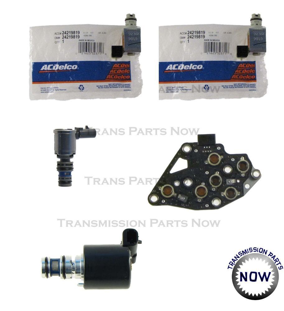 Gm 4l60e Transmission Master Solenoid Kit - Year of Clean Water