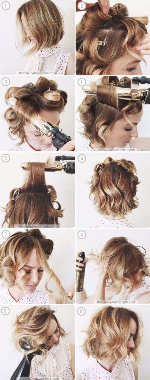 +30 Peinados para cabello corto tutoriales y las última tendencias