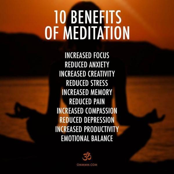 10 Health Benefits of Meditation