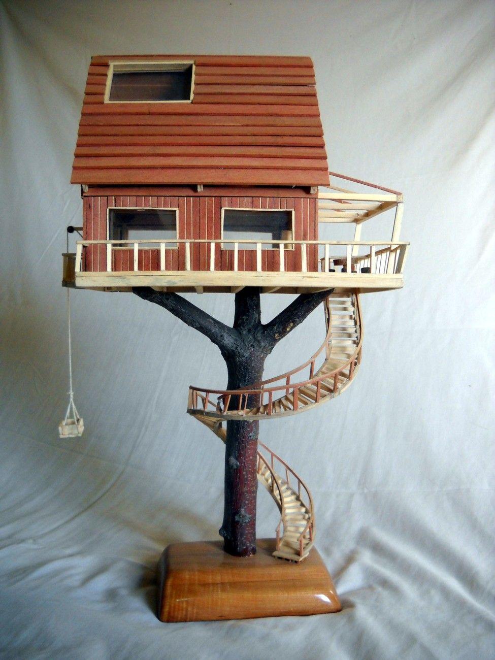 Casa grande. Fabricada con maderas recicladas de pino y roble ...