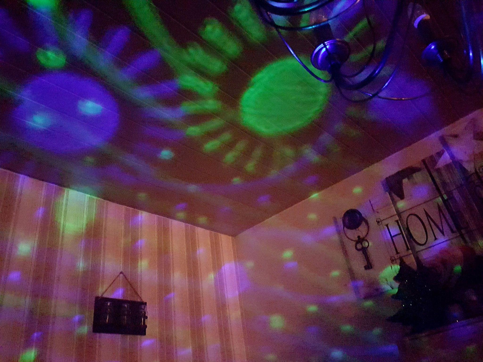Sternenhimmel Projektor Testtulpes Webseite Neon Signs Neon