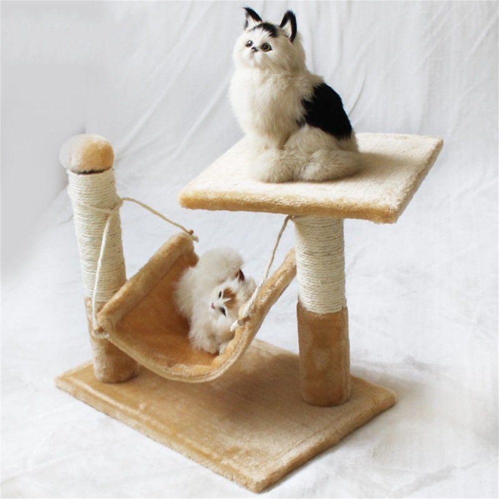 vedem cat kitten play tree hammock scratcher furniture post scratching board cot bed    for vedem cat kitten play tree hammock scratcher furniture post      rh   pinterest