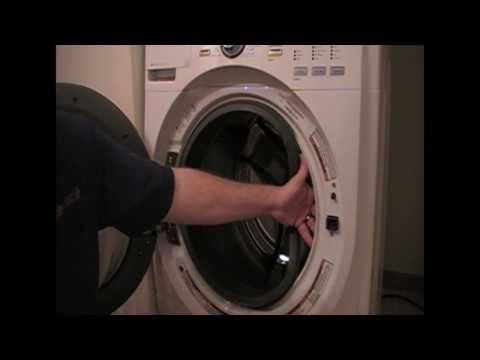 How To Replace A Door Lock On A Whirlpool Maytag Washer Maytag Washers Appliance Repair Door Locks