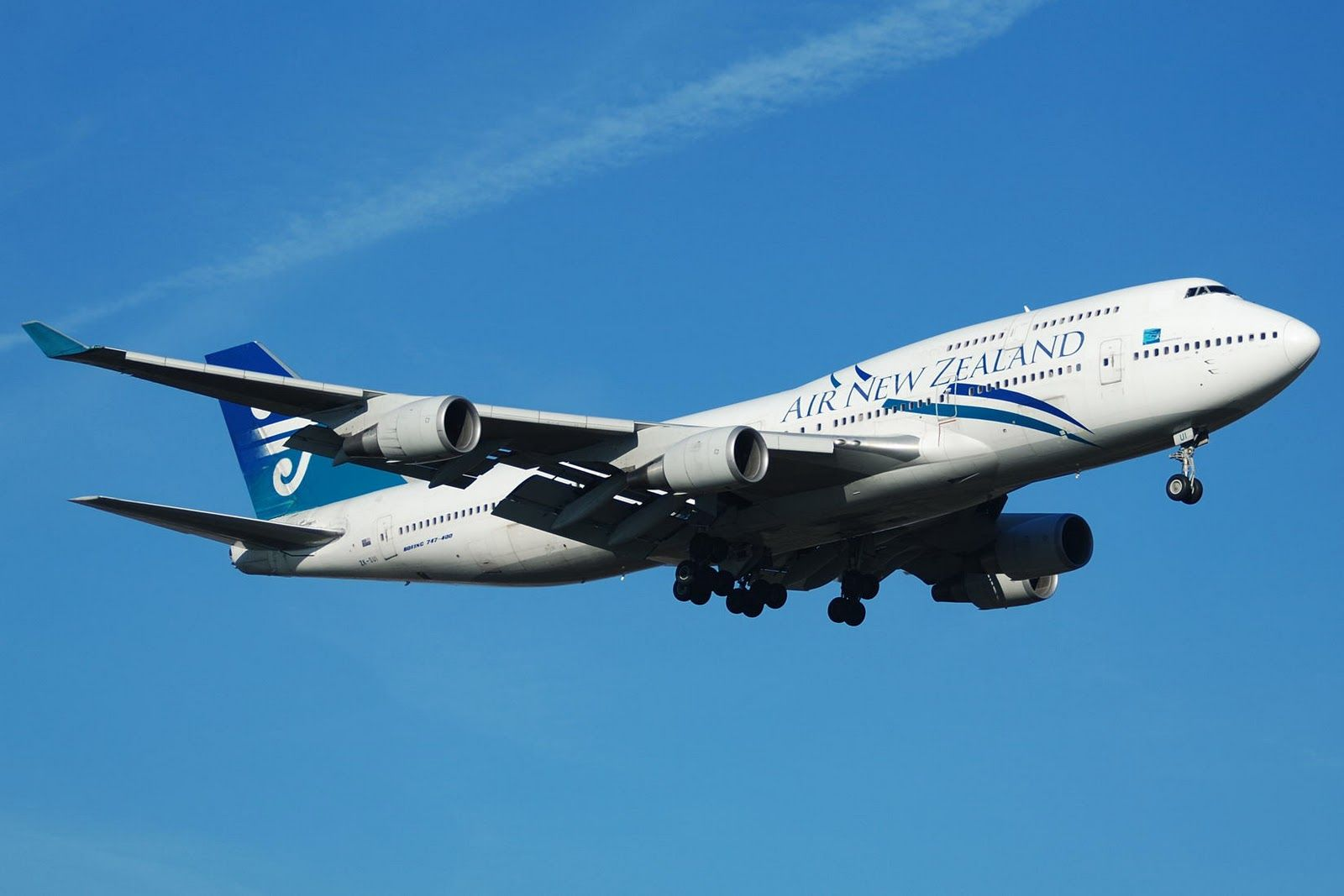 Boeing 747 Airplane Boeing 747 Wallpaper 8172 Hd Wallpapers Air New Zealand Boeing 747 New Zealand