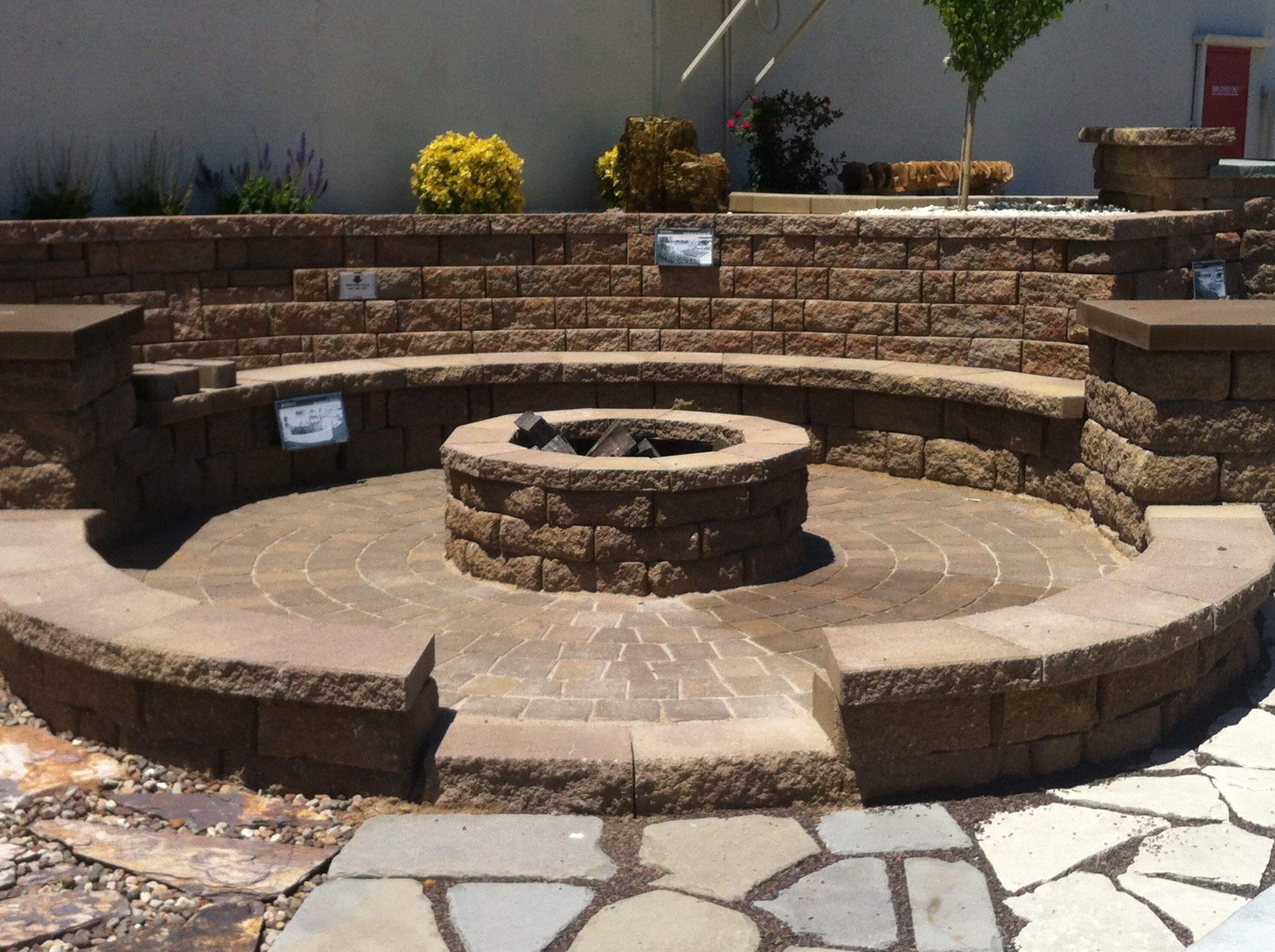 Outdoor fire pit for the home pinterest outdoor fire and