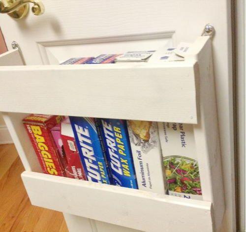 Budget Friendly DIY Drawer Organizers | Door organizer, Pantry ...