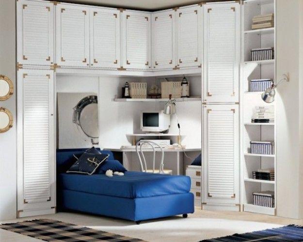 Arredare casa in stile marinaro cameretta stile marinaro for Arredo bagno marinaro